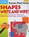 Shapes Write and Wipe! [With Non-Toxic Pen]
