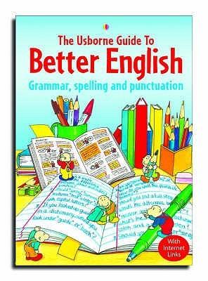 兒童字典及百科 the usborne guide to better english: grammar.