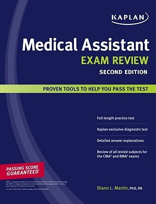 kaplan medical assistant exam review by diann l. martin