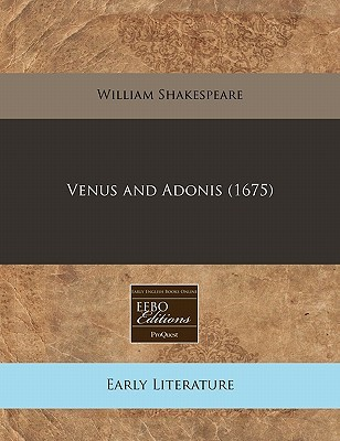 venus and adonis poem analysis
