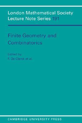 Finite Geometry and Combinatorics