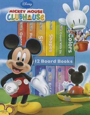 Mickey Mouse Clubhouse 12 Board Books By Walt Disney Company