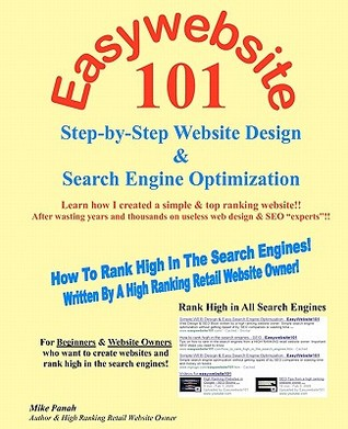 Easywebsite101: Step-By-Step Web Design & Seo by a High Ranking Retail Website Owner