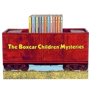 Boxcar Children Bookshelf (The Boxcar Children Mysteries, #1-12)