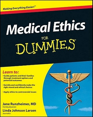 Medical ethics for dummies by jane runzheimer 9856095 fandeluxe