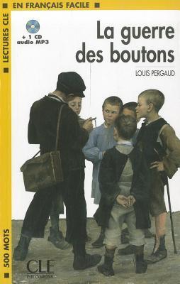 La Guerre Des Boutons Book + MP3 CD (Level 1)