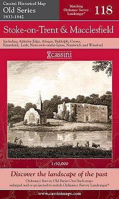 Stoke On Trent (Cassini Old Series Historical Map)