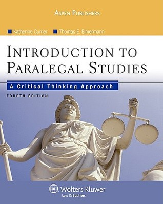 Introduction to paralegal studies a critical thinking approach 4e introduction to paralegal studies a critical thinking approach 4e fandeluxe Image collections