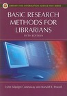 Basic Research Methods for Librarians by Ronald R. Powell
