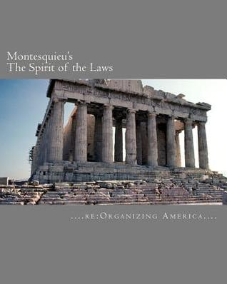 Montesquieu's The Spirit of the Laws