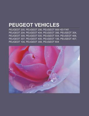 Peugeot Vehicles: Peugeot 205, Peugeot 206, Peugeot 908 Hdi Fap, Peugeot 204, Peugeot 404, Peugeot 306, Peugeot 304, Peugeot 309, Peugeot 505