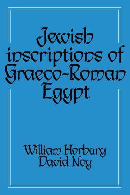 Jewish Inscriptions of Graeco-Roman Egypt