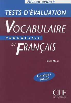 Vocabulaire progressif du franais niveau avanc tests d 12728710 fandeluxe Image collections