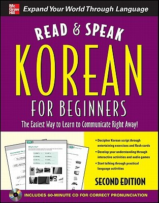 Read And Speak Korean For Beginners With Audio Cd 2nd Edition By