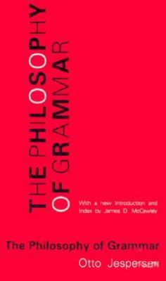 The Philosophy of Grammar