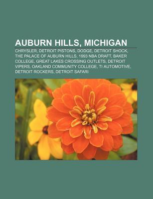 Auburn Hills, Michigan: Chrysler, Detroit Pistons, Dodge, Detroit Shock, the Palace of Auburn Hills, 1993 NBA Draft, Baker College