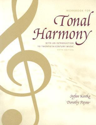 Tonal Harmony Wkbk with Wkbk Audio CD and Finale CD-ROM