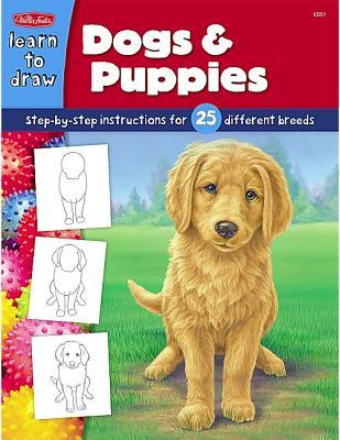 Learn To Draw Dogs Puppies Step By Step Instructions For 25