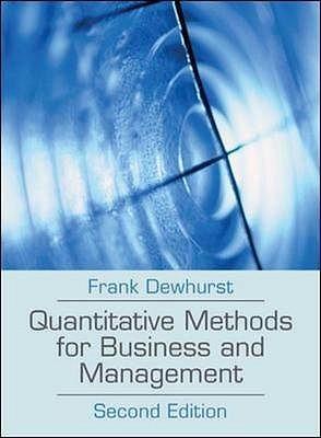quantitative methods for business essay