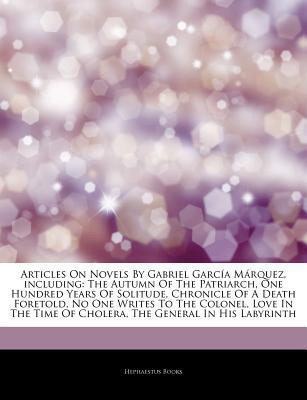 Articles on Novels By Gabriel García Márquez