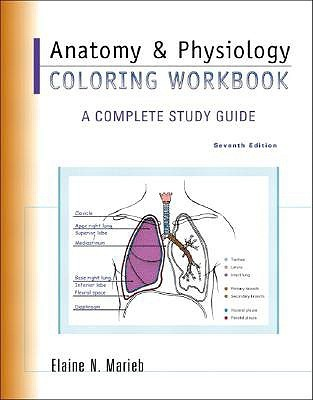 Anatomy & Physiology Coloring Workbook: A Complete Study Guide by ...