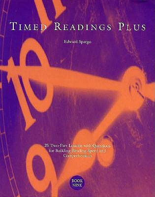 Timed Readings Plus:  25 Two-Part Lessons with Questions for Building Reading Speed and Comprehension, Book Four