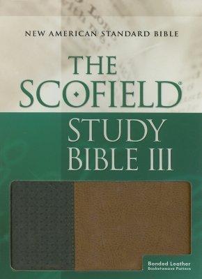 Holy Bible: The ScofieldRG Study Bible III, NASB: New American Standard Bible