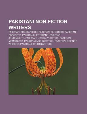 Pakistani Non-Fiction Writers: Khalid Masud, Ahmed Rashid, Hussain Mansoor, Saifuddin Bohra, Hina Shaikh, Anjum Sultan Shahbaz