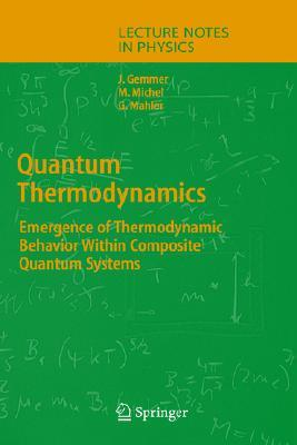 Quantum Thermodynamics: Emergence Of Thermodynamic Behavior Within Composite Quantum Systems