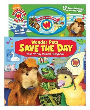 WonderPets Save the Day Press 'n Play Musical Storybook
