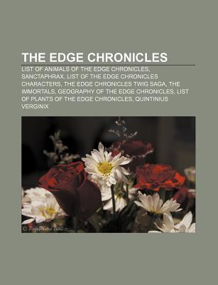 The Edge Chronicles: List of Animals of the Edge Chronicles, Sanctaphrax, List of the Edge Chronicles Characters, the Edge Chronicles Twig Saga