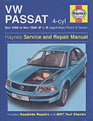 VW Passat (96-00) Service & Repair Manual
