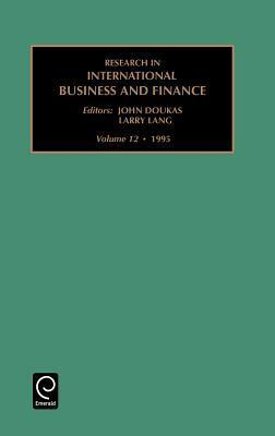 Research In International Business And Finance, Volume 12