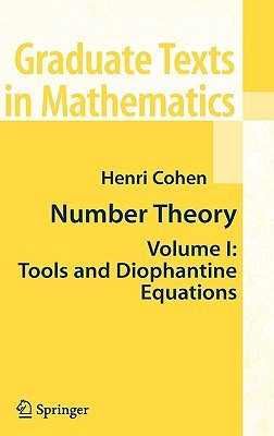 Number Theory, Volume 1 by Henri Cohen
