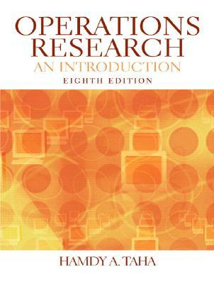 Operations Research An Introduction By Hamdy A Taha