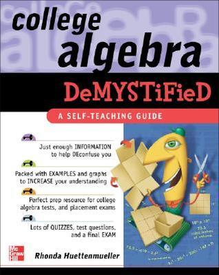 College Algebra Demystified Pdf