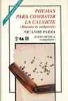 Poemas para combatir la calvicie by Nicanor Parra