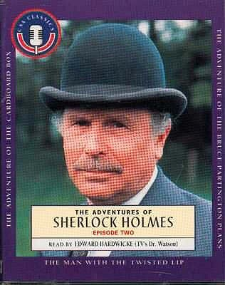 The Adventures of Sherlock Holmes. Episode Two: The Cardboard Box; The Man With the Twisted Lip; The Bruce Partington Plans