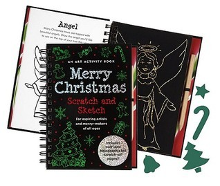 MERRY CHRISTMAS SCRATCH & SKETCH (Scratch & Sketch Series)