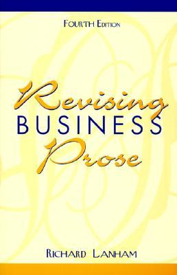 Read the new book revising business prose (4th edition) free book.