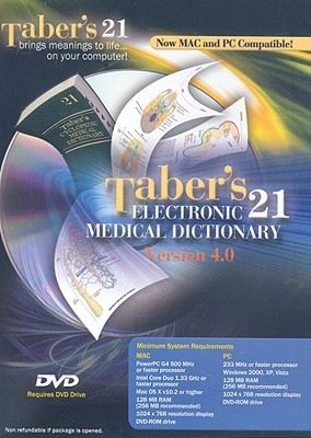 Taber's Cyclopedic Medical Dictionary Electronic Version