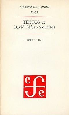 Textos de David Alfaro Siqueiros
