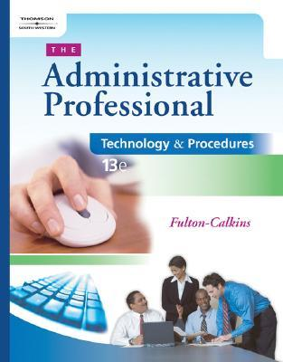 The administrative professional technology procedures with cdrom 1707040 fandeluxe Images