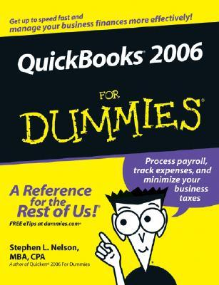 QuickBooks 2006 for Dummies by Stephen L. Nelson