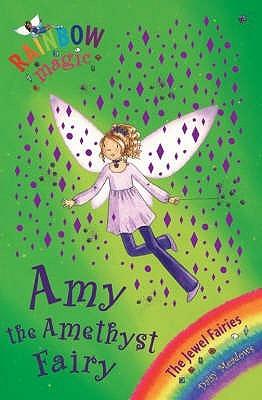 Amy The Amethyst Fairy (Jewel Fairies, #5: Rainbow Magic)
