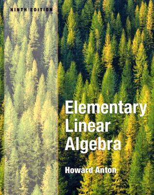 Elementary Linear Algebra 10th Edition Pdf