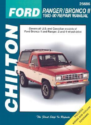 Ford Ranger and Bronco II, 1983-90 1983-90 Repair Manual