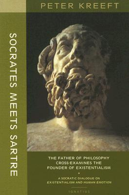 Socrates meets sartre the father of philosophy meets the founder of 30516 fandeluxe Choice Image