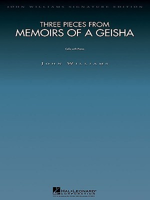 Three Pieces from Memoirs of a Geisha: Cello and Piano