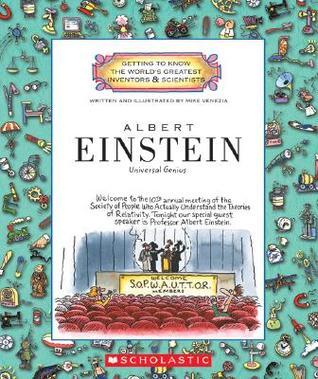 Albert Einstein by Mike Venezia